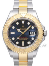 Rolex Yacht-Master Blue Dial Steel Gold Oysterlock Bracelet