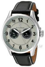 S.Coifman Silverfärgad/Läder