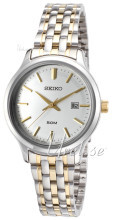 Seiko Dress Ladies Silverfärgad/Gulguldtonat stål Ø30.5 mm