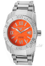 Swiss Legend Commander Orange/Stål Ø46 mm
