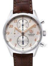 TAG Heuer Carrera Calibre 16 Heritage Automatic Chronograph Silv