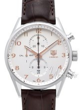 TAG Heuer Carrera Calibre 1887 Automatic Chronograph Silverfärga