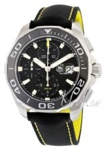 TAG Heuer Aquaracer Chronograph Svart/Textil