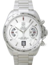 TAG Heuer Grand Carrera Calibre 17 Automatic Chronograph Vit/Stå