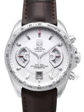 TAG Heuer Grand Carrera Calibre 17 Automatic Chronograph Vit/Lä