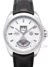 TAG Heuer Grand Carrera Calibre 8RS Grande Date And GMT Silverf