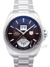 TAG Heuer Grand Carrera Calibre 8RS Grande Date And GMT Brun/Stå