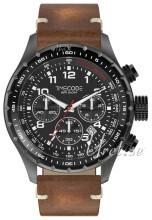 Timecode Svart/Läder