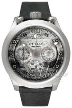 Timecode Moon 1969 Grå/Läder