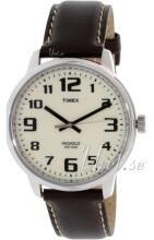 Timex Vit/Läder Ø45 mm