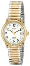 Timex Easy Reader Vit/Gulguldtonat stål Ø25 mm