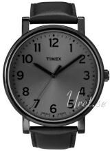 Timex Easy Reader Svart/Läder Ø42 mm