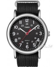 Timex Weekender Svart/Stål Ø38 mm