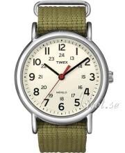 Timex Weekender Beige/Stål Ø38 mm