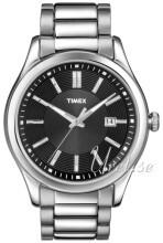 Timex Svart/Stål Ø40 mm