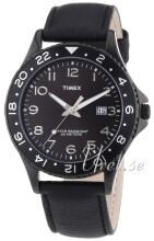 Timex Sports Svart/Läder Ø42 mm