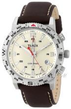 Timex Intelligent Beige/Läder Ø42 mm