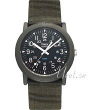 Timex Svart/Textil