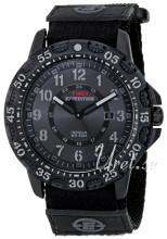 Timex Expedition Svart/Läder
