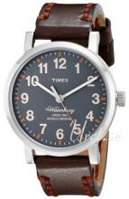 Timex Grå/Läder Ø40 mm