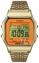 Timex Classic LCD/Gulguldtonat stål