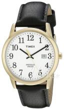 Timex Easy Reader Vit/Läder