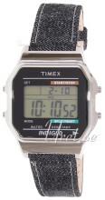 Timex Classic LCD/Läder