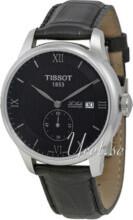 Tissot Tissot T-Classic Svart/Läder Ø39.3 mm