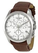 Tissot T-Trend Couturier Silverfärgad/Läder