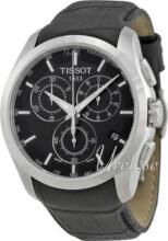 Tissot T-Trend Couturier Svart/Läder Ø41 mm