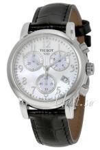 Tissot T-Classic DressSport Vit/Läder
