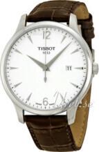 Tissot Tradition Vit/Läder Ø42 mm