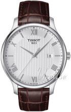 Tissot Tradition Gent Silverfärgad/Läder