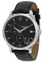 Tissot T-Classic Tradition GMT Svart/Läder