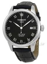 Tissot T-Classic Le Locle Svart/Läder