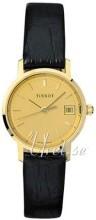 Tissot T-Gold Champagnefärgad/Läder Ø24 mm