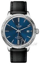 Tudor Style Blå/Läder