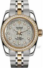 Tudor Classic Date Silverfärgad/18 karat gult guld