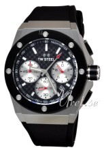 TW Steel Ceo Tech Svart/Gummi Ø44 mm