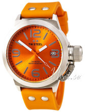 TW Steel Canteen Orange/Gummi Ø45 mm