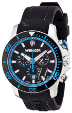 Wenger Seaforce Svart/Gummi Ø43 mm