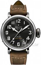 Zenith Pilot Svart/Läder